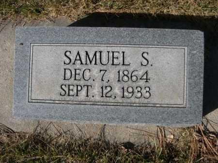 HALSTEAD, SAMUEL S. - Dawes County, Nebraska | SAMUEL S. HALSTEAD - Nebraska Gravestone Photos
