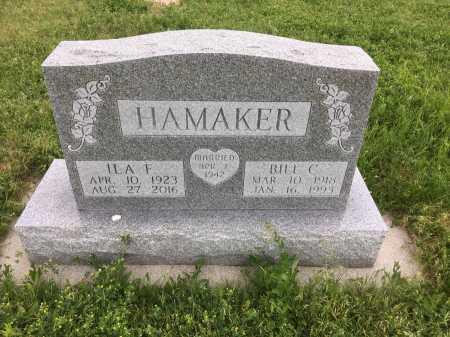 HAMAKER, BILL C. - Dawes County, Nebraska | BILL C. HAMAKER - Nebraska Gravestone Photos