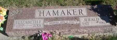 HAMAKER, ELIZABETH E. - Dawes County, Nebraska | ELIZABETH E. HAMAKER - Nebraska Gravestone Photos