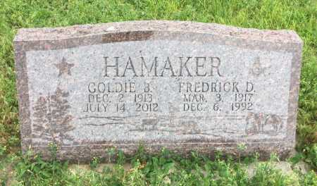 HAMAKER, GOLDIE B. - Dawes County, Nebraska | GOLDIE B. HAMAKER - Nebraska Gravestone Photos