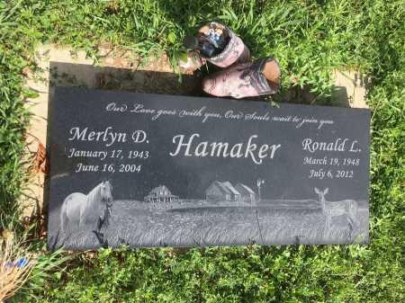 HAMAKER, MERLYN - Dawes County, Nebraska   MERLYN HAMAKER - Nebraska Gravestone Photos