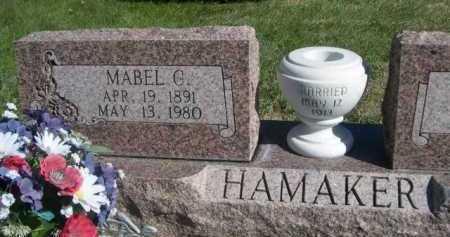 HAMAKER, MABEL C. - Dawes County, Nebraska | MABEL C. HAMAKER - Nebraska Gravestone Photos
