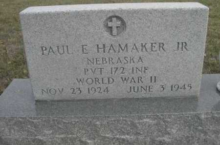 HAMAKER, PAUL E. JR. - Dawes County, Nebraska | PAUL E. JR. HAMAKER - Nebraska Gravestone Photos