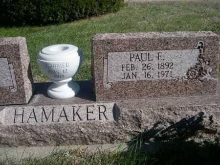 HAMAKER, PAUL E. - Dawes County, Nebraska   PAUL E. HAMAKER - Nebraska Gravestone Photos