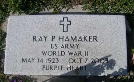 HAMAKER, RAY P. - Dawes County, Nebraska | RAY P. HAMAKER - Nebraska Gravestone Photos