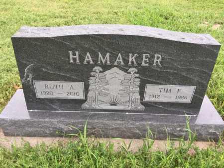 HAMAKER, RUTH A. - Dawes County, Nebraska | RUTH A. HAMAKER - Nebraska Gravestone Photos