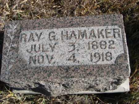 HAMAKER, RAY G. - Dawes County, Nebraska | RAY G. HAMAKER - Nebraska Gravestone Photos