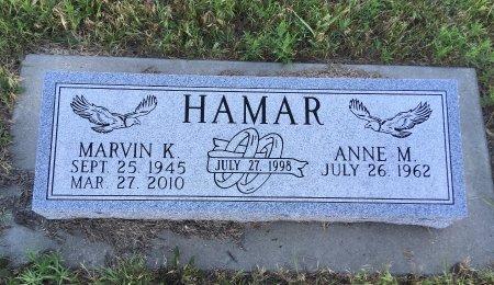 PFISTER HAMAR, ANNE M - Dawes County, Nebraska   ANNE M PFISTER HAMAR - Nebraska Gravestone Photos
