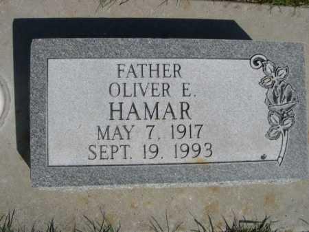 HAMAR, OLIVER E. - Dawes County, Nebraska | OLIVER E. HAMAR - Nebraska Gravestone Photos