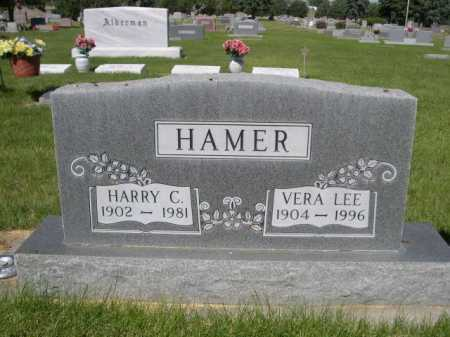 HAMER, HARRY C. - Dawes County, Nebraska | HARRY C. HAMER - Nebraska Gravestone Photos