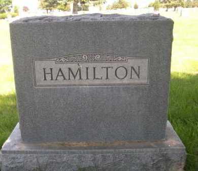 HAMILTON, FAMILY - Dawes County, Nebraska | FAMILY HAMILTON - Nebraska Gravestone Photos
