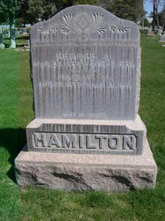 HAMILTON, GEORGE A. - Dawes County, Nebraska | GEORGE A. HAMILTON - Nebraska Gravestone Photos