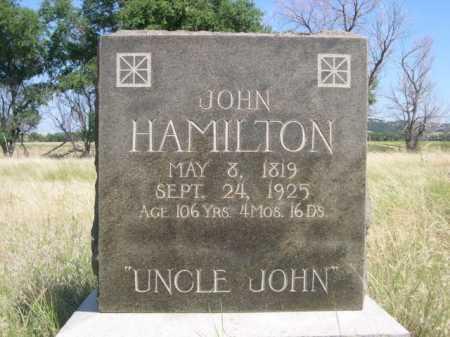 HAMILTON, JOHN - Dawes County, Nebraska | JOHN HAMILTON - Nebraska Gravestone Photos