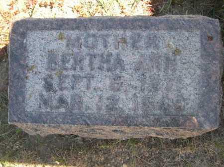 HAMM, BERTHA ANN - Dawes County, Nebraska   BERTHA ANN HAMM - Nebraska Gravestone Photos