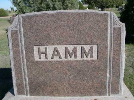 HAMM, FAMILY - Dawes County, Nebraska   FAMILY HAMM - Nebraska Gravestone Photos
