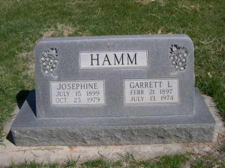 HAMM, GARRETT L. - Dawes County, Nebraska   GARRETT L. HAMM - Nebraska Gravestone Photos