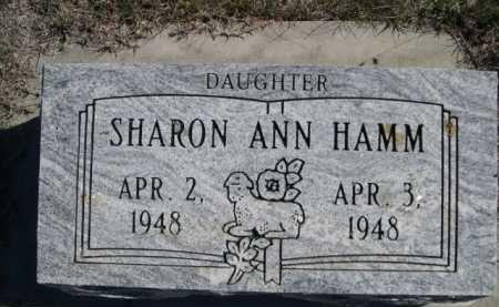 HAMM, SHARON ANN - Dawes County, Nebraska   SHARON ANN HAMM - Nebraska Gravestone Photos