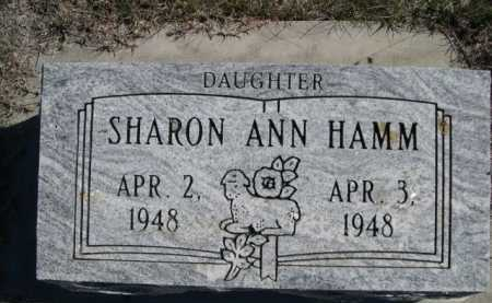 HAMM, SHARON ANN - Dawes County, Nebraska | SHARON ANN HAMM - Nebraska Gravestone Photos