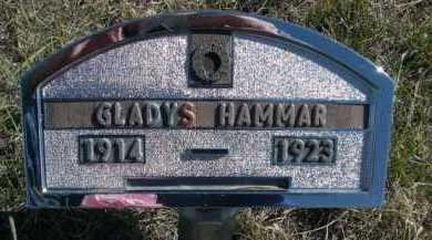 HAMMAR, GLADYS - Dawes County, Nebraska | GLADYS HAMMAR - Nebraska Gravestone Photos