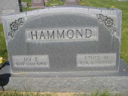 HAMMOND, JAY T. - Dawes County, Nebraska | JAY T. HAMMOND - Nebraska Gravestone Photos