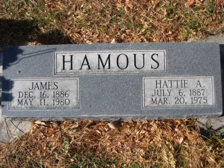 HAMOUS, HATTIE A. - Dawes County, Nebraska | HATTIE A. HAMOUS - Nebraska Gravestone Photos