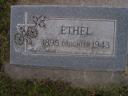 HAMPTON, ETHEL - Dawes County, Nebraska | ETHEL HAMPTON - Nebraska Gravestone Photos