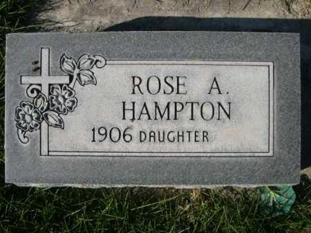 HAMPTON, ROSE A. - Dawes County, Nebraska | ROSE A. HAMPTON - Nebraska Gravestone Photos