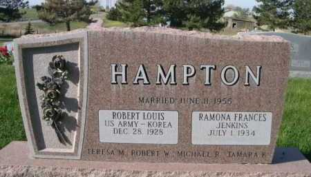 HAMPTON, RAMONA FRANCES JENKINS - Dawes County, Nebraska | RAMONA FRANCES JENKINS HAMPTON - Nebraska Gravestone Photos