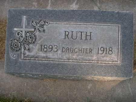 HAMPTON, RUTH - Dawes County, Nebraska | RUTH HAMPTON - Nebraska Gravestone Photos