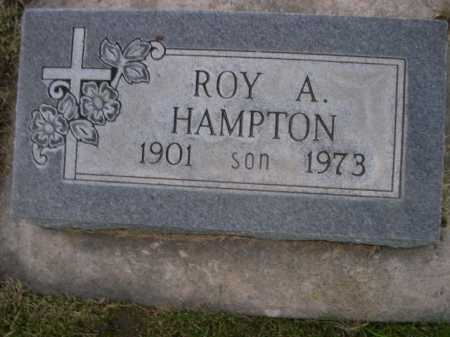 HAMPTON, ROY A. - Dawes County, Nebraska | ROY A. HAMPTON - Nebraska Gravestone Photos