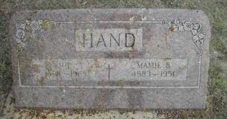 HAND, JOE - Dawes County, Nebraska | JOE HAND - Nebraska Gravestone Photos