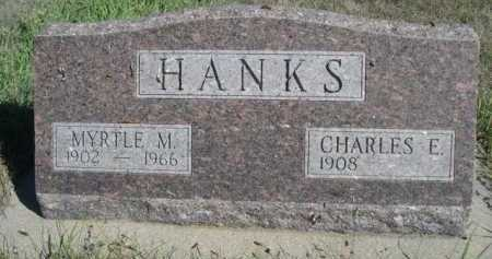 HANKS, MYRTLE M. - Dawes County, Nebraska | MYRTLE M. HANKS - Nebraska Gravestone Photos