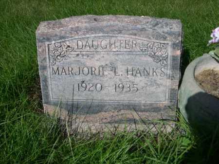 HANKS, MARJORIE L. - Dawes County, Nebraska | MARJORIE L. HANKS - Nebraska Gravestone Photos