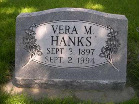 HANKS, VERA M. - Dawes County, Nebraska | VERA M. HANKS - Nebraska Gravestone Photos