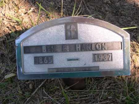 HANLON, BEN E. - Dawes County, Nebraska | BEN E. HANLON - Nebraska Gravestone Photos