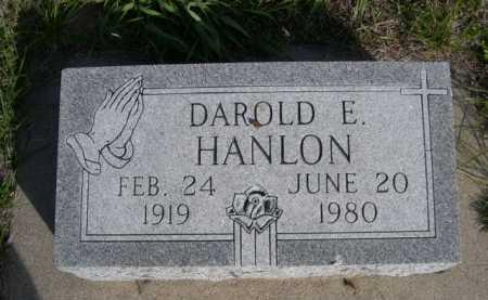 HANLON, DAROLD E. - Dawes County, Nebraska | DAROLD E. HANLON - Nebraska Gravestone Photos