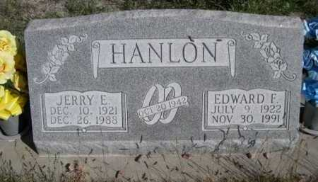 HANLON, EDWARD F. - Dawes County, Nebraska | EDWARD F. HANLON - Nebraska Gravestone Photos