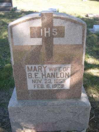HANLON, MARY - Dawes County, Nebraska | MARY HANLON - Nebraska Gravestone Photos