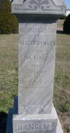 HANSEN, MARIE - Dawes County, Nebraska | MARIE HANSEN - Nebraska Gravestone Photos