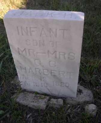 HARBERT, JACK H. INFANT SON OF MR - MRS G.C. - Dawes County, Nebraska | JACK H. INFANT SON OF MR - MRS G.C. HARBERT - Nebraska Gravestone Photos