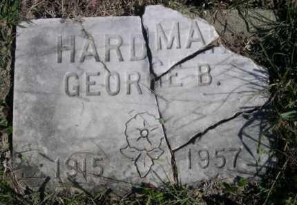 HARDMAN, GEORGE B. - Dawes County, Nebraska   GEORGE B. HARDMAN - Nebraska Gravestone Photos