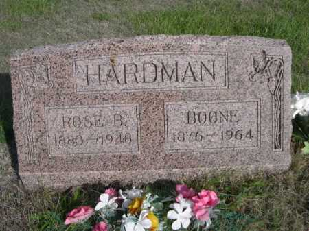 HARDMAN, ROSE B. - Dawes County, Nebraska | ROSE B. HARDMAN - Nebraska Gravestone Photos