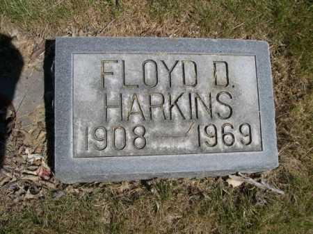 HARKINS, FLOYD D. - Dawes County, Nebraska | FLOYD D. HARKINS - Nebraska Gravestone Photos