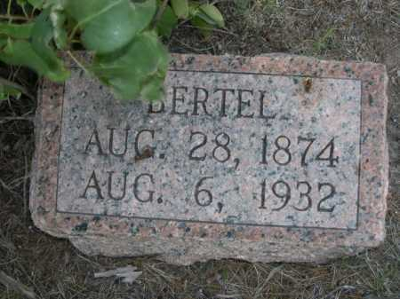 HARLEY, BERTEL - Dawes County, Nebraska | BERTEL HARLEY - Nebraska Gravestone Photos