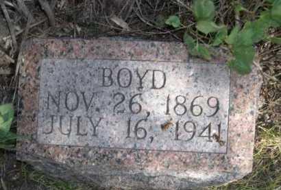 HARLEY, BOYD - Dawes County, Nebraska | BOYD HARLEY - Nebraska Gravestone Photos