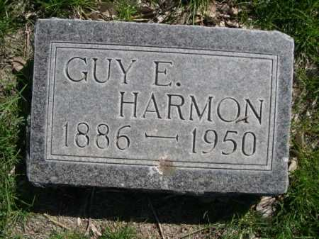 HARMON, GUY E. - Dawes County, Nebraska   GUY E. HARMON - Nebraska Gravestone Photos