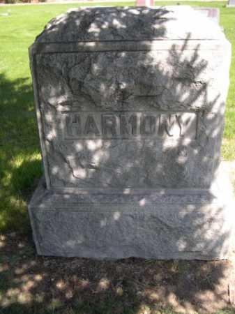 HARMONY, FAMILY - Dawes County, Nebraska   FAMILY HARMONY - Nebraska Gravestone Photos