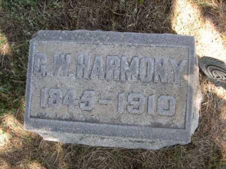 HARMONY, G. W. - Dawes County, Nebraska | G. W. HARMONY - Nebraska Gravestone Photos