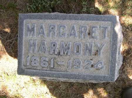 HARMONY, MARGARET - Dawes County, Nebraska   MARGARET HARMONY - Nebraska Gravestone Photos