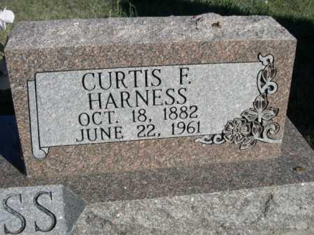 HARNESS, CURTIS E. - Dawes County, Nebraska | CURTIS E. HARNESS - Nebraska Gravestone Photos